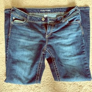 Maurices brand jeans  Sz 11/12